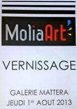 Vernissage Galerie Mattera