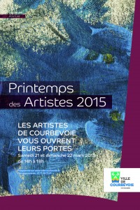 Affiche Printemps des artistes 2015